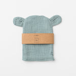 Bear wash glove in sage