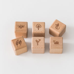 Whimsical Woodlands 6 Block Set