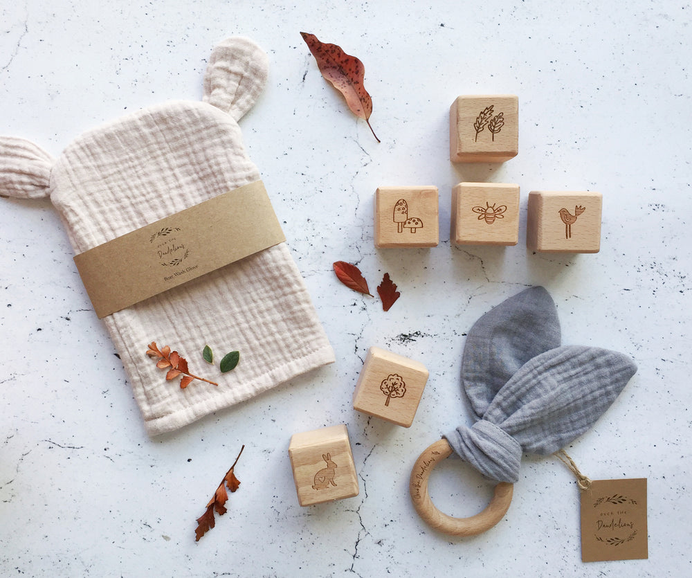 New Baby gift set whimsy