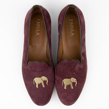 Load image into Gallery viewer, FABULA & TALES x '74ESCAPE | Suede Royal Slippers | Terra Cotta