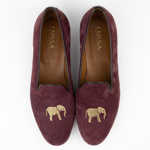 FABULA & TALES x '74ESCAPE | Suede Royal Slippers | Terra Cotta