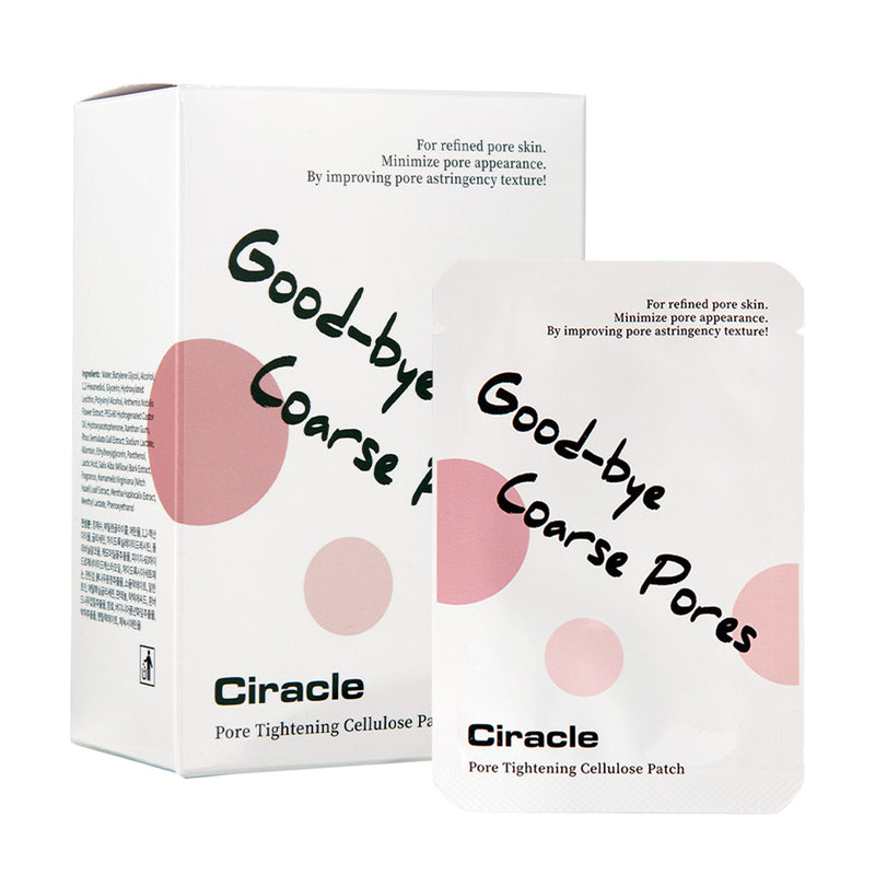 Ciracle Pore Tightening Cellulose Patch 3ml*20