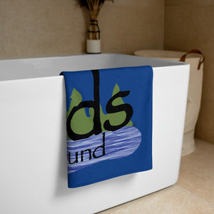 Wood Logo Towel