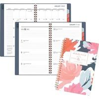 at-a-glance badge floral weekly/monthly planner