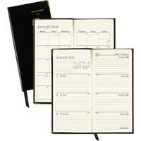 at-a-glance leather fine diary weekly/monthly planner