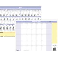 at-a-glance quicknotes mini erasable yearly wall planner