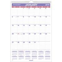 at-a-glance write-on/wipe-off laminated monthly wall calendar
