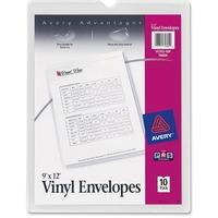 avery® vinyl envelopes