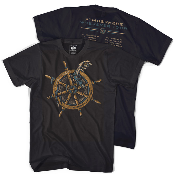"""Wherever Tour"" Black Shirt"