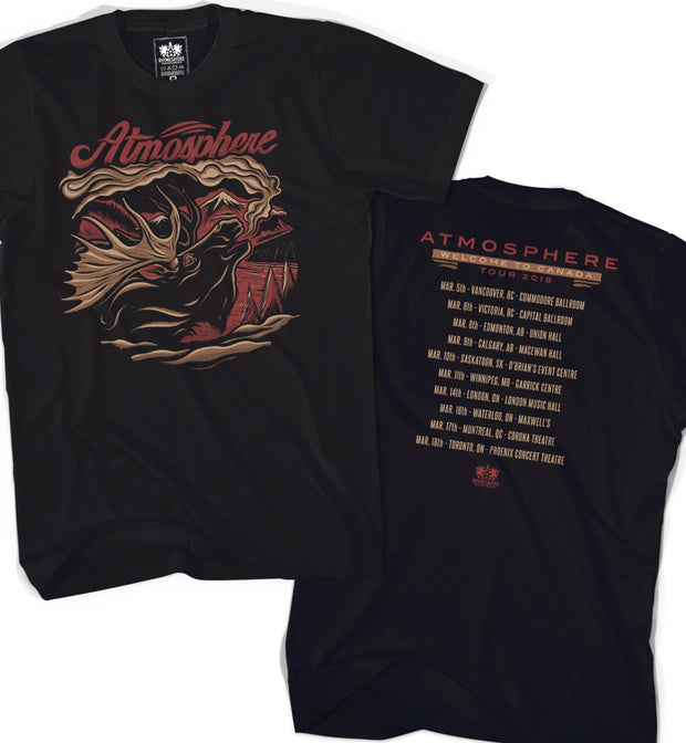 "Atmosphere ""Welcome To Canada Tour"" Shirt"