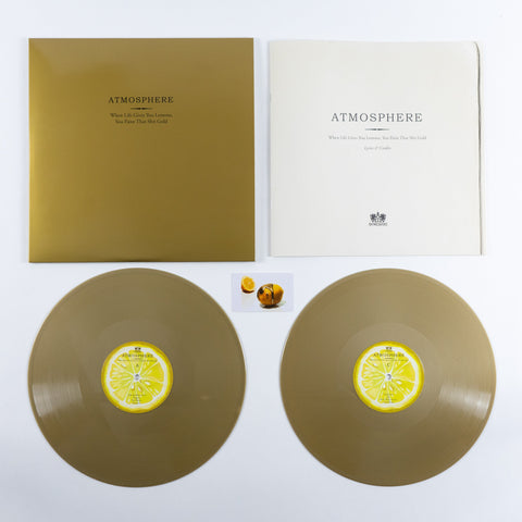 "Atmosphere ""When Life Gives You Lemons, You Paint That Shit Gold (10 Year Anniversary)"" Standard Vinyl"
