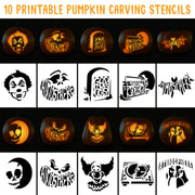 Printable Pumpkin Carving Stencils
