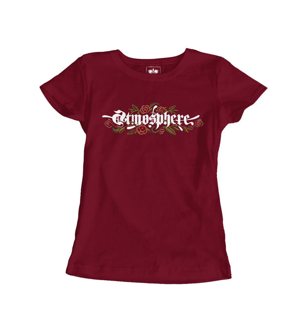"Atmosphere ""Mi Vida Hardcore"" Scarlett Womens Shirt"