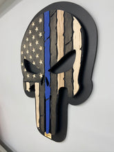 Load image into Gallery viewer, Wooden Punisher Skull