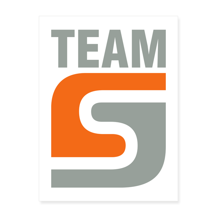 Team Stepcraft Poster - white