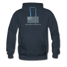 Load image into Gallery viewer, VWC Flag Hoodie - navy