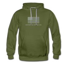 Load image into Gallery viewer, VWC Flag Hoodie - olive green