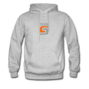Team Stepcraft Hoodie - heather gray