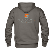 Load image into Gallery viewer, Team Stepcraft Hoodie - asphalt gray