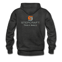 Load image into Gallery viewer, Team Stepcraft Hoodie - charcoal gray