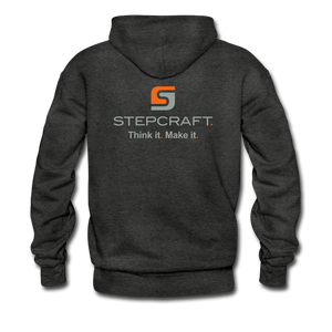 Team Stepcraft Hoodie - charcoal gray