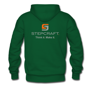 Team Stepcraft Hoodie - forest green