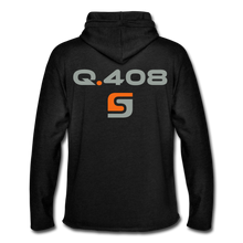 Load image into Gallery viewer, Q.408 Lightweight Hoodie - charcoal gray