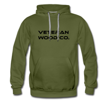 Load image into Gallery viewer, Men's Premium Hoodie - olive green