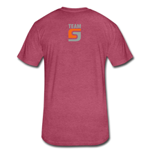 Load image into Gallery viewer, Stepcraft T - heather burgundy