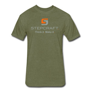 Stepcraft T - heather military green
