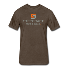 Load image into Gallery viewer, Stepcraft T - heather espresso