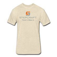 Load image into Gallery viewer, Stepcraft T - heather cream