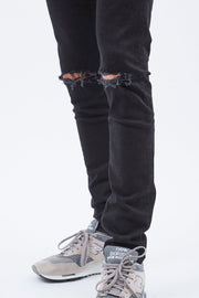 Chase Jeans - Black ripped knees