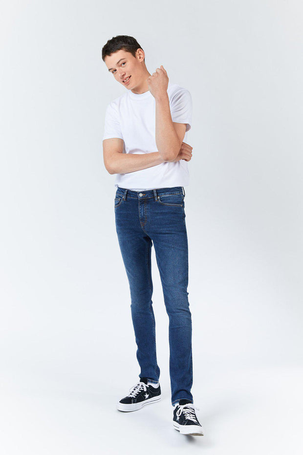 Chase Jeans - Dark grain blue