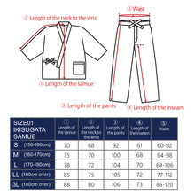 Load image into Gallery viewer, 1092 Men's Samue Working Clothes Cotton hemp Yoryu