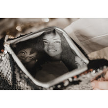 Load image into Gallery viewer, Double sided sequin photo purse