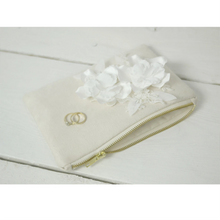Load image into Gallery viewer, Bridal flower photo purse