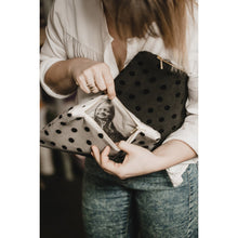 Load image into Gallery viewer, Polka dot photo purse
