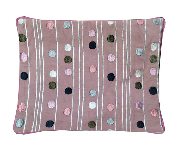 KANYOGA Poppins Embroidery Mustard Seed Baby Pillow - 21 x 26 x 3 cm