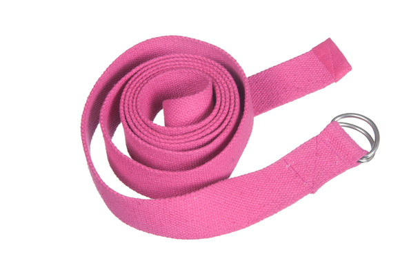 Kanyoga Cotton Yoga Belt For Stretching and Flexible Yoga - 250 L x 4 W