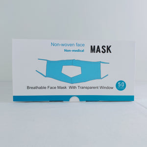 Face Masks with Transparent Window