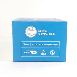 100 Boxes of Level 3 - 98% BFE Medical Type IIR Surgical Masks box of 50