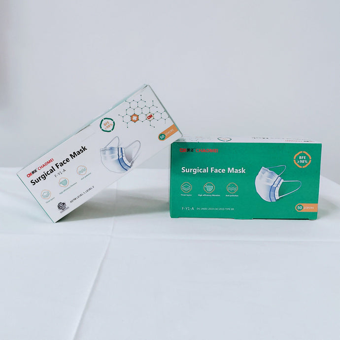 Level 2 Box of Medical Masks - 98% BFE - SURGICAL MASK - $8/Box of 50