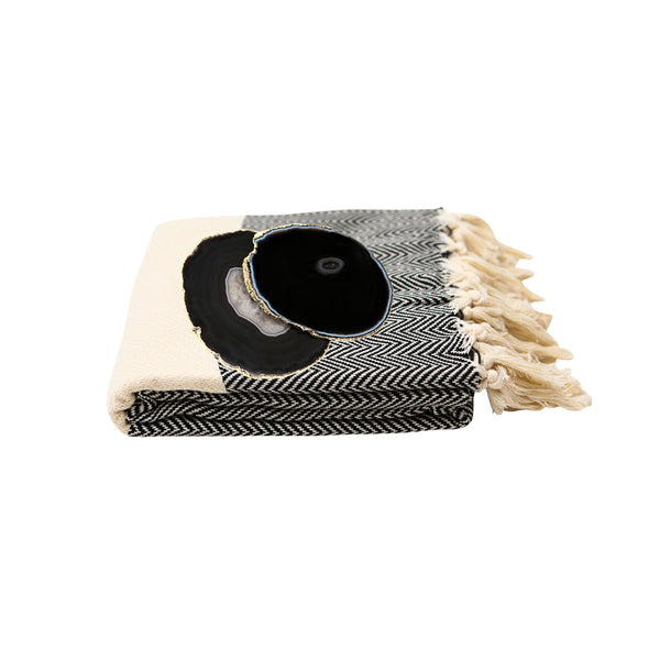 Blanket + Coaster Gift Set