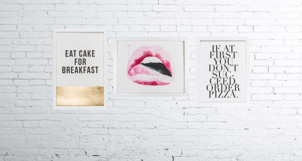 Bon Appetit 3 Framed Gallery Wall Set