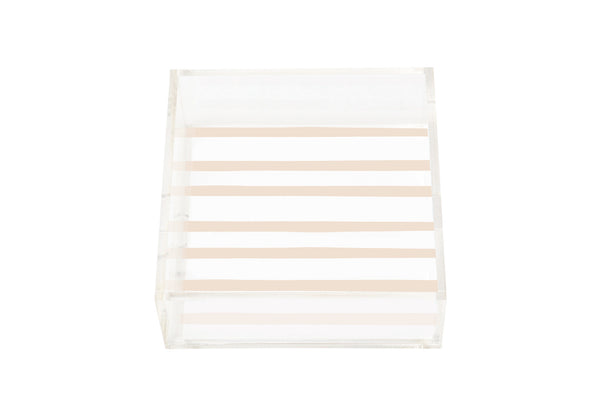 Square Natural Lucite Tray