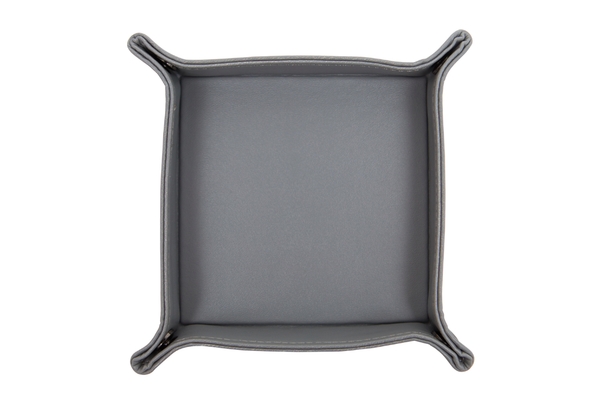 Charcoal Leather Tray