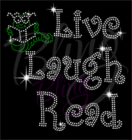 Live Laugh Read Shirt, Teacher t Shirt, Teacher Shirts, Gift For Teacher, Shirt For Teacher, Teacher Shirt, Crew Neck Shirt, Teacher Gifts