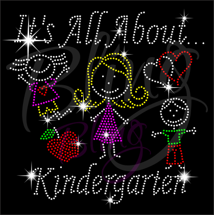 It's All About Kindergarten Shirt, Teacher t Shirt, Teacher Shirts, Gift For Teacher, Shirt For Teacher, Teacher Shirt, Crew Neck Shirt, Teacher Gifts