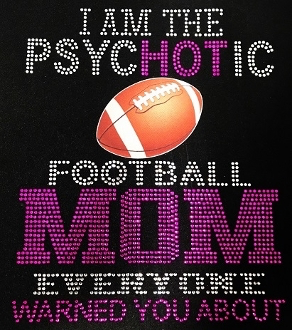 Football Mom Shirt, Football Shirt Adults, Football Rhinestone Shirt , Football t shirt, Football Gift, Football Season Shirt